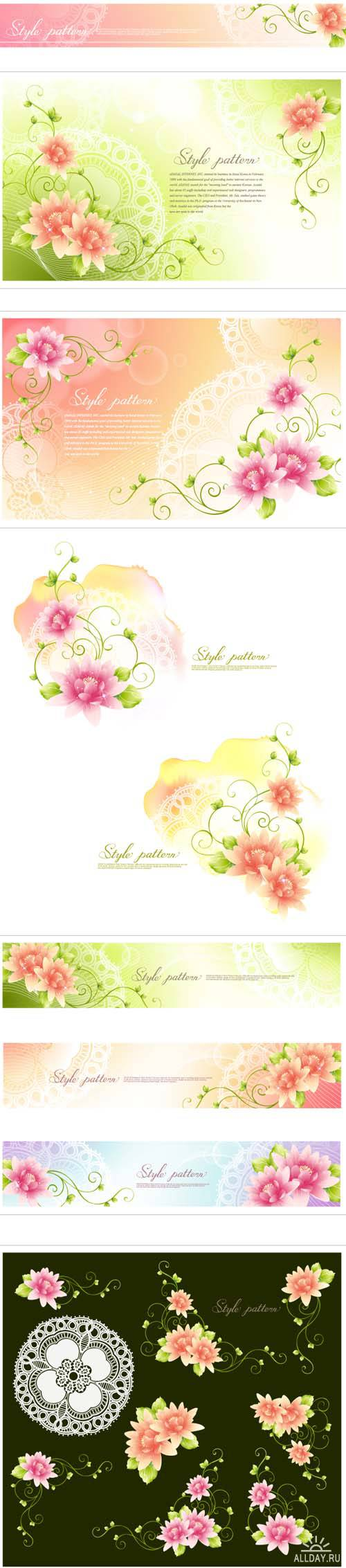 Spring Flower Style Patterns
