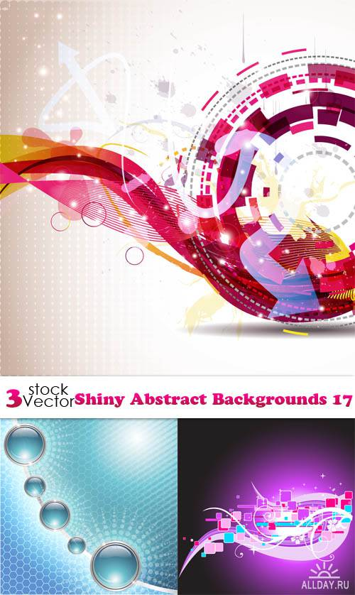 Vectors - Shiny Abstract Backgrounds 17
