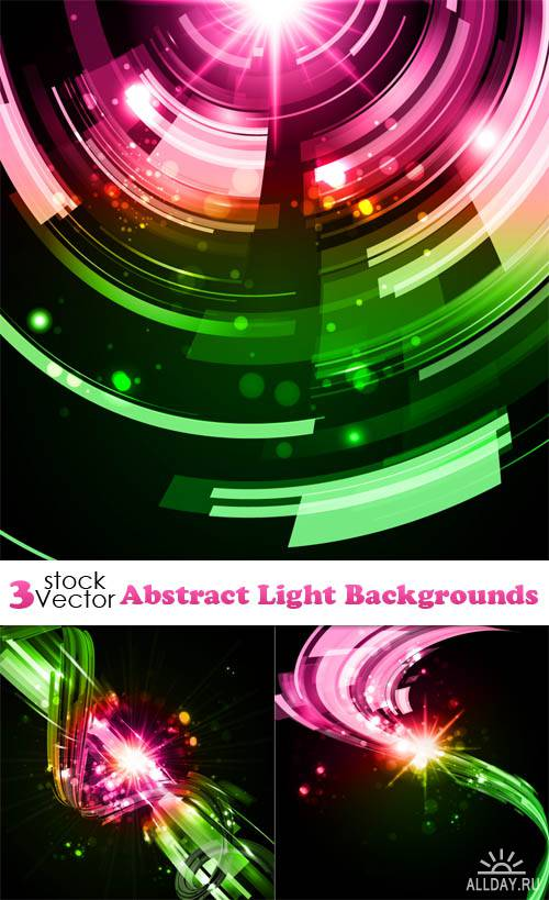 Vectors - Abstract Light Backgrounds