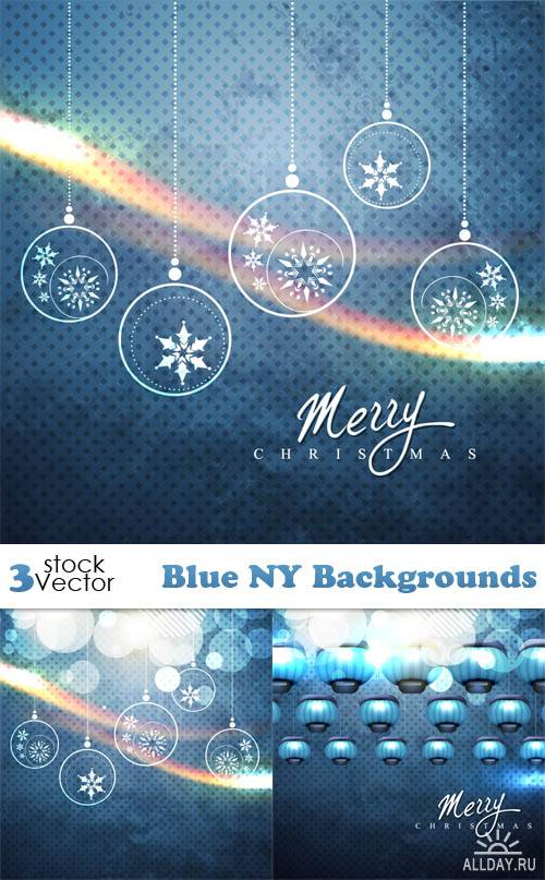 Vectors - Blue NY Backgrounds