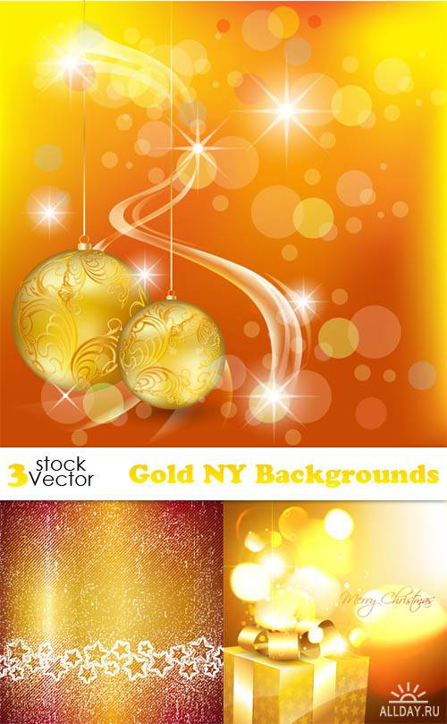 Vectors - Gold NY Backgrounds