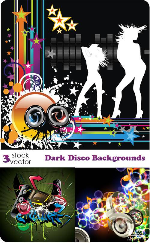 ��������� ������� - Dark Disco Backgrounds