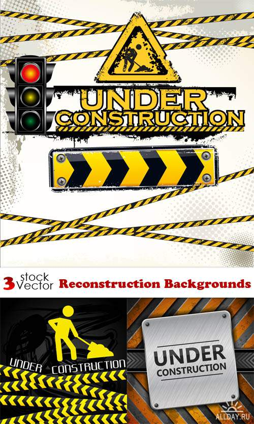 Vectors - Reconstruction Backgrounds