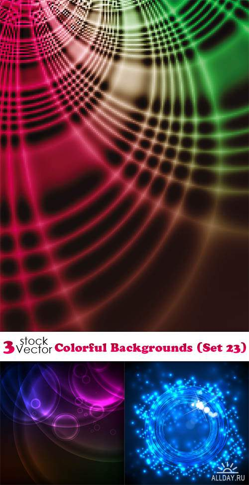 Vectors - Colorful Backgrounds (Set 23)