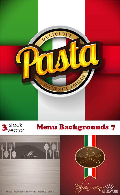 Vectors - Menu Backgrounds 7