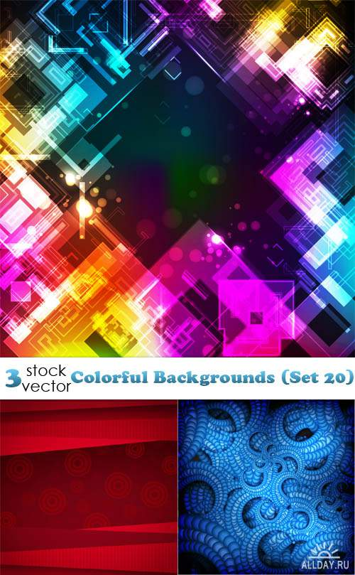 Vectors - Colorful Backgrounds (Set 20)