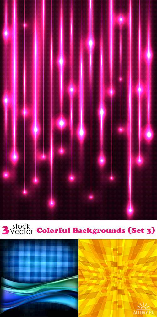 Vectors - Colorful Backgrounds (Set 3)