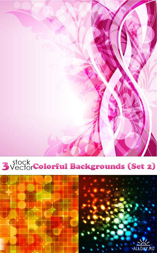 Vectors - Colorful Backgrounds (Set 2)