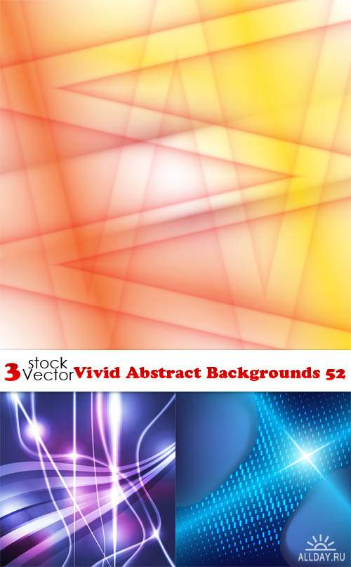 Vectors - Vivid Abstract Backgrounds 52